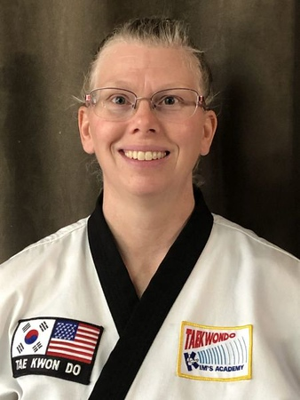 Jr. Master Laurie Winzer<br /> 4th Dan