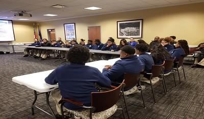 Junior Police Academy Field Trip to Georgia Ports Authority Police