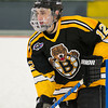 Vinny Scotti (JB - 12) - In a wild game, the Boston Junior Bruins defeated the South Shore Kings 7-6 on February 11, 2011, at the Foxboro Sports Center in Foxboro, MA.