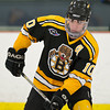 Danny Federico (JB - 10) - In a wild game, the Boston Junior Bruins defeated the South Shore Kings 7-6 on February 11, 2011, at the Foxboro Sports Center in Foxboro, MA.