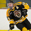 Kyle Smith (JB - 18) - In a wild game, the Boston Junior Bruins defeated the South Shore Kings 7-6 on February 11, 2011, at the Foxboro Sports Center in Foxboro, MA.
