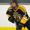 Bennett Carroccio (JB - 11) - In a wild game, the Boston Junior Bruins defeated the South Shore Kings 7-6 on February 11, 2011, at the Foxboro Sports Center in Foxboro, MA.