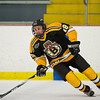Cody Learned (JB - 19) - In a wild game, the Boston Junior Bruins defeated the South Shore Kings 7-6 on February 11, 2011, at the Foxboro Sports Center in Foxboro, MA.