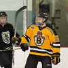 Andrew Tegeler (JB - 16) - The Boston Junior Bruins defeated the South Shore Kings 4-3 on February 21, 2011, at the Foxboro Sports Center in Foxboro, MA.