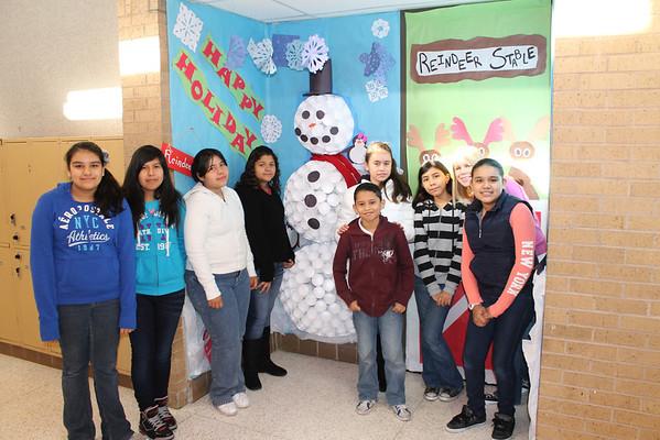 Christmas Door Decorating Contest 12/20/2012
