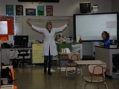 Chevron sponsors  PlastiVan to present to 8th graders