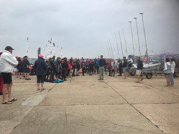 RS Tera Open, Pro and Sport fleets. 27 June 2021. Photo by Liz Summers