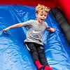 Sammy on the big slide at Epworth
