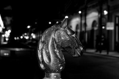 Standout: A relic of times of old this horse head used to have a ring to tie off horses in the streets of New Orleans.