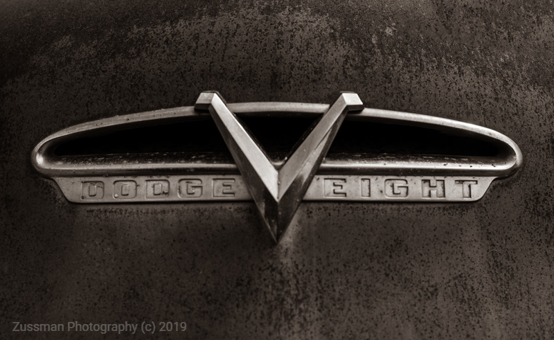 Dodge V Eight B&W