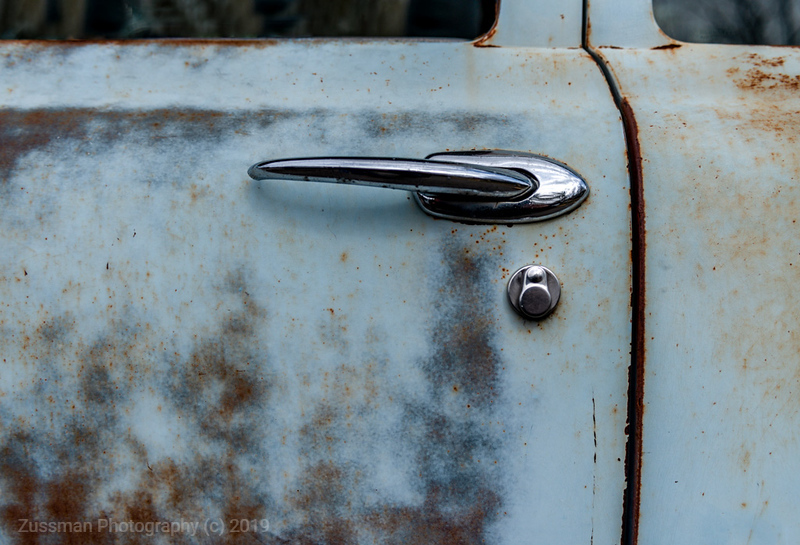 Door Handle - Blue