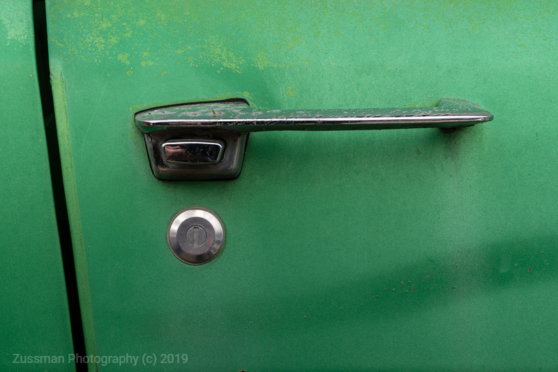 Door Handle - Green