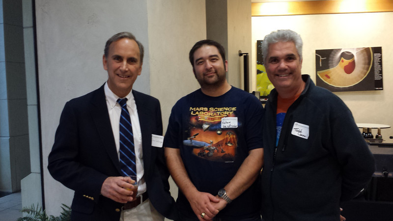 Meeting Professor Grotzinger, Project Scientist for Mars Curiosity