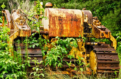 Bulldozer (Year Unknown) - Used to build Blue Ridge Parkway