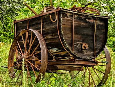 Peach Cart