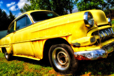 """""""Colonel Mustard"""" - 1954 Chevrolet Bel Air - Catalog #0045"""