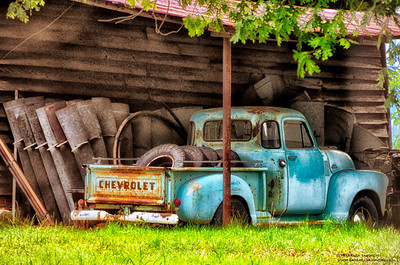 """Old Blue"" - Chevrolet Truck (5 Window Cab) - Catalog #0027"