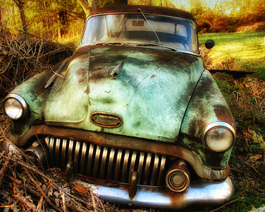 """Roadside Relic"" - Buick Eight Special (Unknown Year) - Catalog #0008"