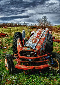 """Lost"" - Ford Tractor - Catalog #0009"