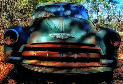 """Hidden Away"" - 1952 Chevrolet DeLuxe - Catalog #0007"