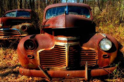 """Rusty Wrecks"" - Chevrolet (Unknown Year) - Catalog #0048"