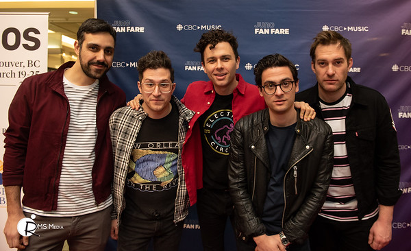 Arkells | Juno Fan Fare | Metropolis at Metrotown | Burnaby BC