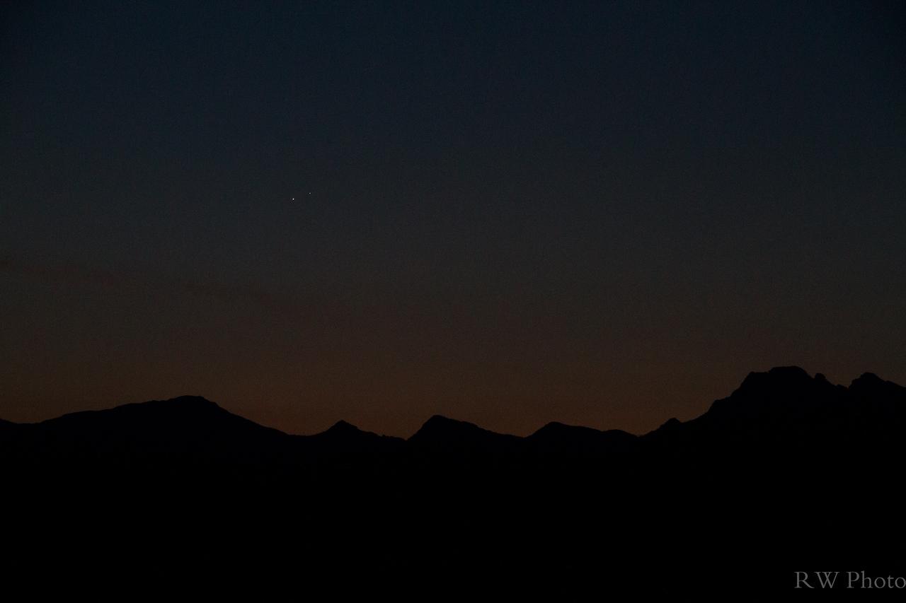 Venus Jupiter Aug 18, 2014