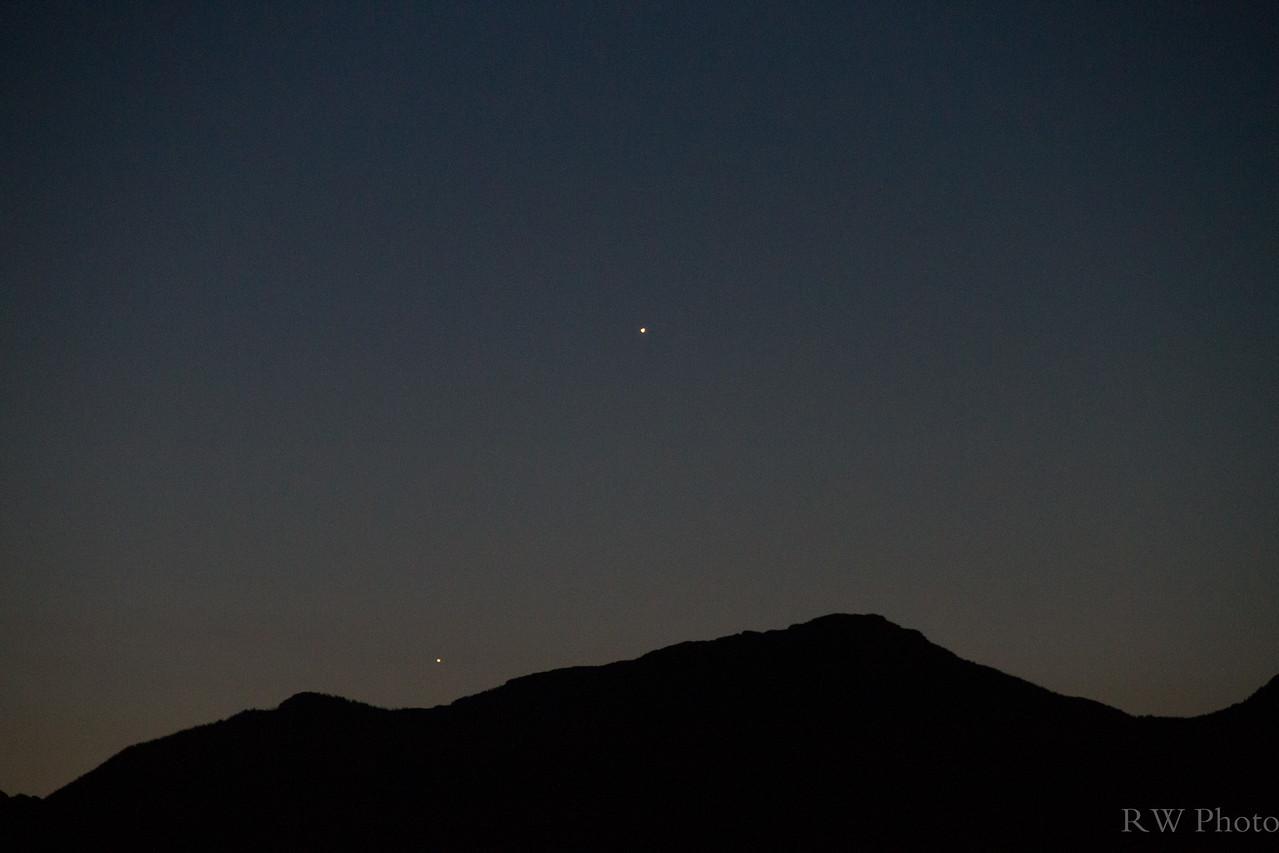 Venus Jupiter Aug 15, 2014
