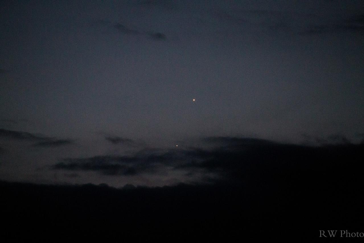 Venus jupiter Aug 17, 2014