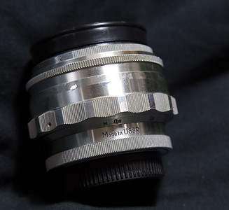 Jupiter 9 85mm f/2 Russian copy of Zeiss Sonnar 85mm f/2