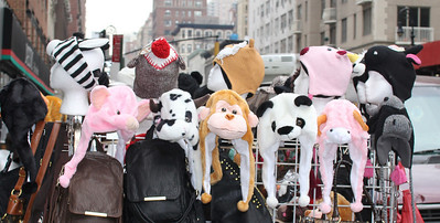Hat Stand in New York City