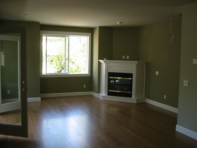 Living Room before move in