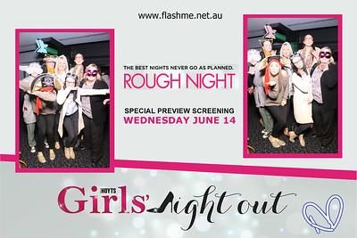 Girls' Night Out Rough Night Advance Screening - 14 June 2017