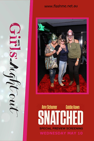 Girls' Night Out Snatched Advance Screening - 10 May 2017