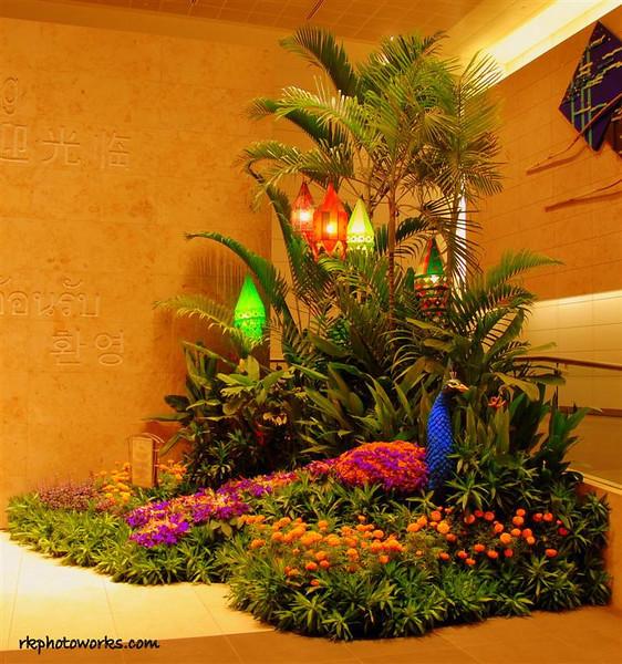 Diwali Setup - Changi Airport, Singapore