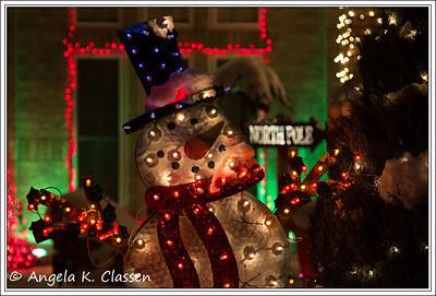 Snowman, Christmas 2013