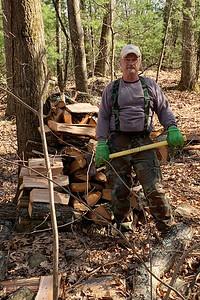 Splitting wood 4/6/2020