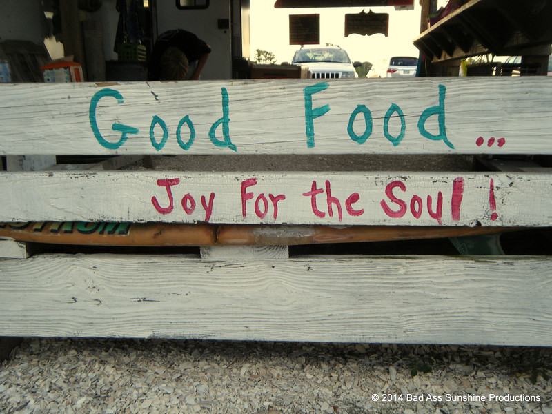 Good Food...Joy for the Soul