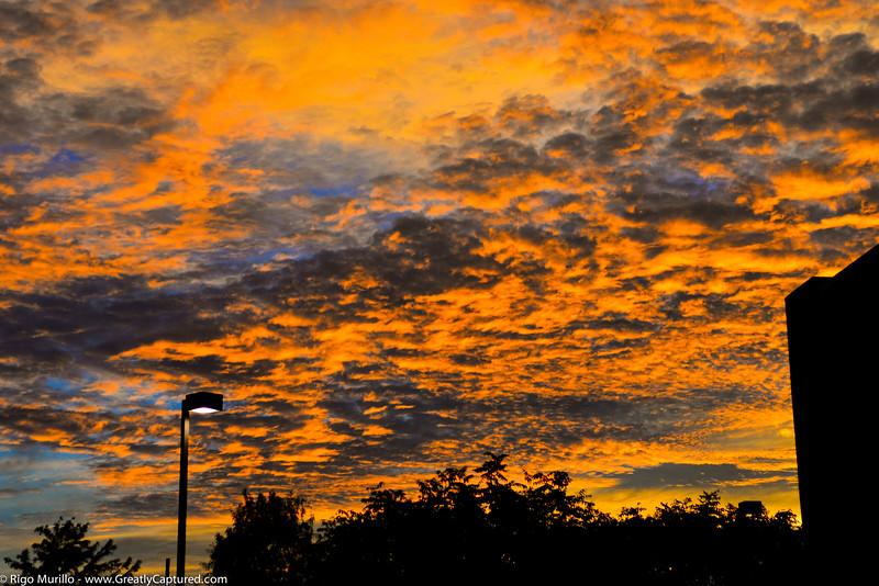 Big Garland Sky After The Storm