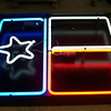 Neon Lone Star Sign