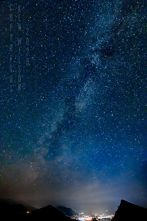 Milky Way Over Estes Park, CO. #3