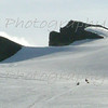 Snowmobiles on Vatnajökull Glacier