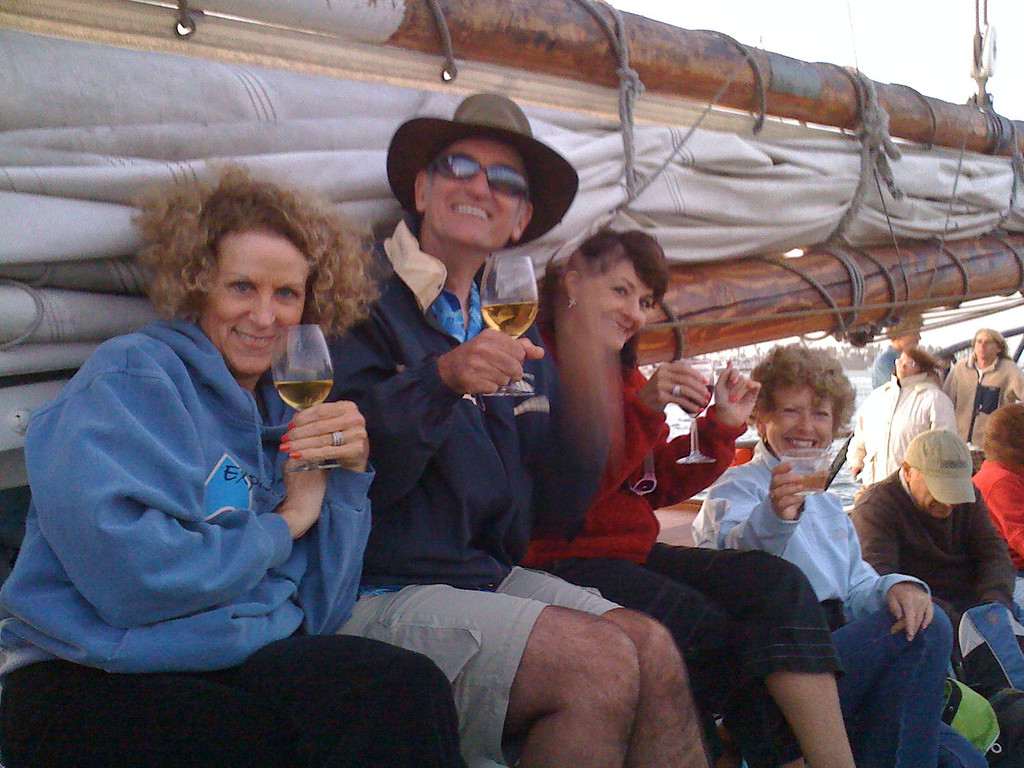 Aye matey, we be sailors now.<br /> <br /> Nancy, Dirk, Christine and Beverly salute you,