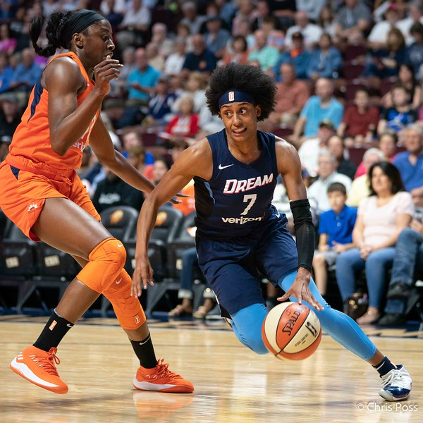 Atlanta Dream vs Connecticut Sun July 17, 2018
