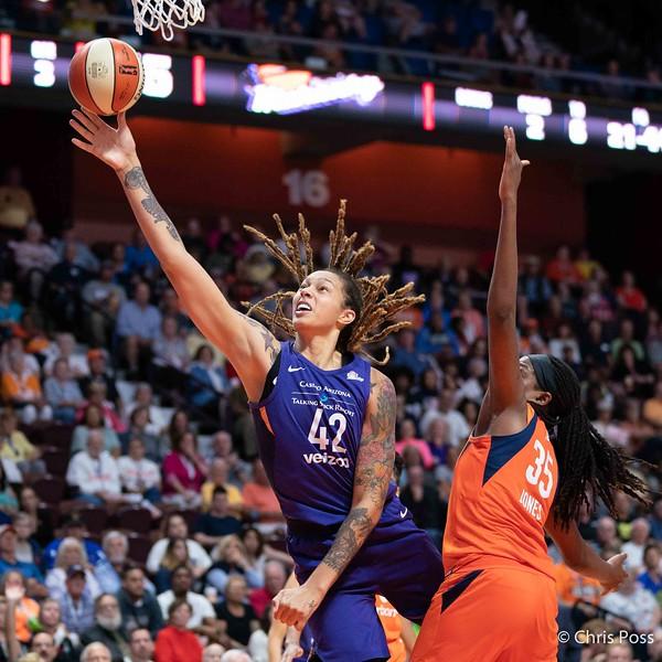 Phoenix Mercury vs Connecticut Sun August 23, 2018