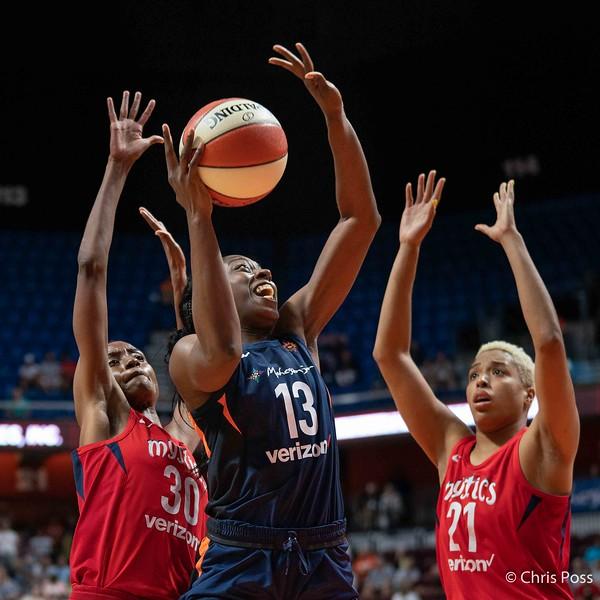 Washington Mystics vs Connecticut Sun July 24, 2018