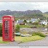 Telephone Booth / Plockton / Scotland