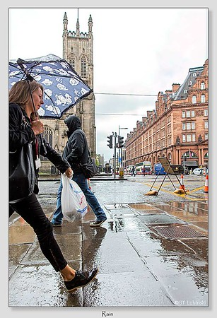 Rain /Edinburgh / Scotland