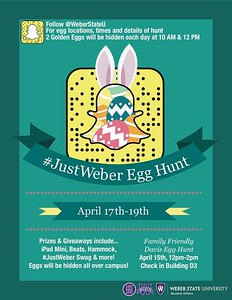 Just Weber Egg Hunt 2017