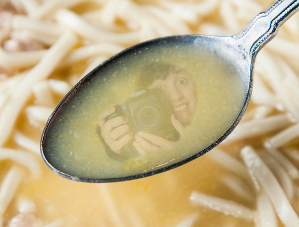 """WAITER!! There's a photographer in my soup!"""
